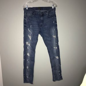 Zara Man Ripped Jean
